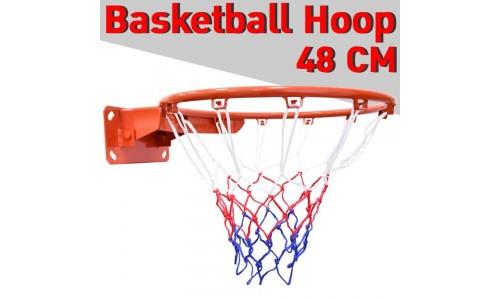 B&G Basketball Hoop ห่วงบาสเกตบอล แขวนติดผนังขอบโลหะ ขนาด 48 Cm